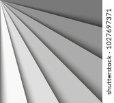 overlapping grey paper sheets... | Shutterstock .eps vector #1027697371