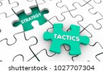 strategy tactics accomplish... | Shutterstock . vector #1027707304