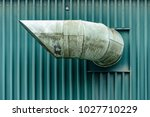 industrial air duct | Shutterstock . vector #1027710229