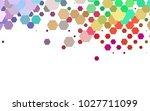 light multicolor  rainbow... | Shutterstock .eps vector #1027711099