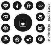 set of 13 editable amour icons. ...