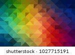 dark multicolor vector shining...   Shutterstock .eps vector #1027715191