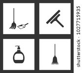 vector illustration set... | Shutterstock .eps vector #1027715935