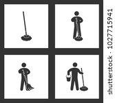 vector illustration set... | Shutterstock .eps vector #1027715941