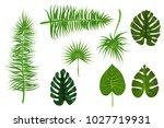 set collection isolated.... | Shutterstock .eps vector #1027719931