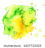 colorful abstract watercolor... | Shutterstock .eps vector #1027722325