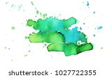 colorful abstract watercolor... | Shutterstock .eps vector #1027722355
