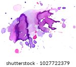 colorful abstract watercolor... | Shutterstock .eps vector #1027722379