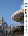 Fountain St. Peter's Basilica...