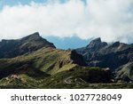 beautiful mountain view of... | Shutterstock . vector #1027728049