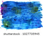 colorful abstract watercolor... | Shutterstock .eps vector #1027735945