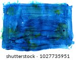 colorful abstract watercolor... | Shutterstock .eps vector #1027735951