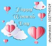 women's day vector illustration ... | Shutterstock .eps vector #1027740529
