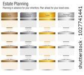 an image of an estate planning... | Shutterstock .eps vector #1027741441
