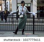 london  uk  february 16 2018 ... | Shutterstock . vector #1027775611