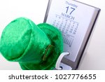 st patrick's day calendar for...   Shutterstock . vector #1027776655