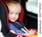 portrait of pretty toddler boy... | Shutterstock . vector #1027776919