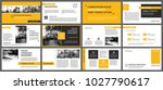yellow presentation templates... | Shutterstock .eps vector #1027790617