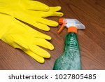 cleaning concept. cleaning... | Shutterstock . vector #1027805485