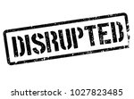 disrupted stamp. typographic... | Shutterstock .eps vector #1027823485