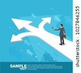 isometric business leader... | Shutterstock .eps vector #1027846255