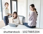 Small photo of Group of woman in the office.