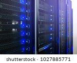 web network  internet... | Shutterstock . vector #1027885771