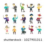 set of different character... | Shutterstock .eps vector #1027901311