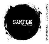 circle shape . grunge style ....   Shutterstock .eps vector #1027903999