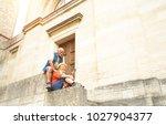 happy senior couple taking...   Shutterstock . vector #1027904377