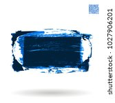 blue brush stroke and texture....   Shutterstock .eps vector #1027906201