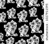 exotic seamless pattern ... | Shutterstock . vector #1027911595