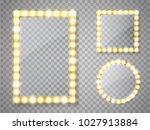 makeup mirror isolated with... | Shutterstock .eps vector #1027913884