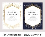 bridal shower invitation... | Shutterstock .eps vector #1027929445