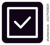 valid icon sign | Shutterstock .eps vector #1027935835