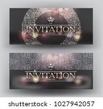 elegant invitation vip card... | Shutterstock .eps vector #1027942057
