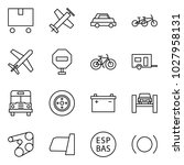 flat vector icon set   delivery ... | Shutterstock .eps vector #1027958131
