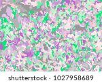 colorful spots background.... | Shutterstock .eps vector #1027958689