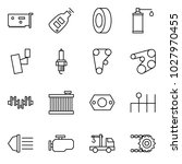 flat vector icon set   network... | Shutterstock .eps vector #1027970455