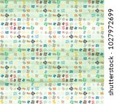 abstract colorful pattern for... | Shutterstock . vector #1027972699