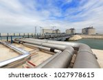 liquefied natural gas lng... | Shutterstock . vector #1027978615