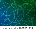 dark blue  green vector natural ... | Shutterstock .eps vector #1027981999
