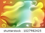 light green  yellow vector... | Shutterstock .eps vector #1027982425
