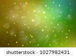 light green  yellow vector... | Shutterstock .eps vector #1027982431