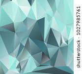 abstract polygonal mosaic... | Shutterstock .eps vector #1027985761
