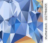 abstract polygonal mosaic... | Shutterstock .eps vector #1027986055