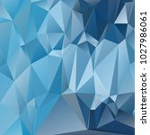 abstract polygonal mosaic... | Shutterstock .eps vector #1027986061