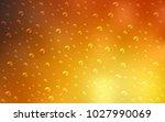 light orange vector pattern... | Shutterstock .eps vector #1027990069