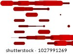 light red vector texture with... | Shutterstock .eps vector #1027991269
