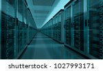 dark server room data center... | Shutterstock . vector #1027993171